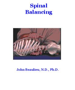 Spinal Balancing (Digital Download)